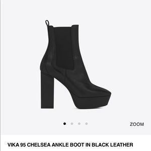 YSL NEW Black ankle boots!